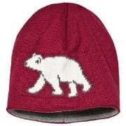 Ticket to heaven Short Knit Hat Rumba Red 49 cm