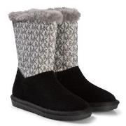Michael Kors lack and Silver Margo Lin Boots 31 (UK 12.5)