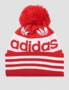 Adidas Originals, AC JACQUARD POM, Punainen, Hatut till Pojat, One siz...